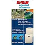 Eheim 32618080 Filterpatrone für Innenfilter 2208-2212 Aquaball 60-180 und Biopower 160-240, 2 Stück