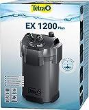 Tetra Aquarium Außenfilter EX 1200 Plus - leistungsstarker Filter für Aquarien bis 500 L, schafft kristallklares fischgerechtes Wasser