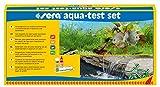 sera 04000 aqua-test set, Test Set fürs Aquarium & den Teich mit den 4 wichtigsten Wassertest pH, GH, KH, NO2 Teichwasser oder Aquarienwasser Testen für Fortgeschrittene schnell, genau, professionell