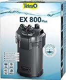 Tetra Aquarium Außenfilter EX 800 Plus - leistungsstarker Filter für Aquarien bis 300 L, schafft kristallklares fischgerechtes Wasser