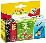 sera super carbon 29g für 60l gesunde Reinheit, entfernt Arzneimittelreste, beseitigt Schadstoffe & Verfärbungen, phosphatfrei, langfristig wirksam, Soforthilfe bei Vergiftung, für sera fil 60 & 126