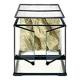 Exo Terra Terrarium aus Glas, mit einzigartiger Front Belüftung, 45 x 45 x 45cm