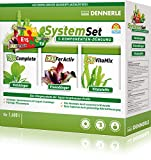 Dennerle Perfect Plant System Set 3-Komponenten Düngeystem für Aquarienpflanzen, Verschiedene Größen (1600 l)