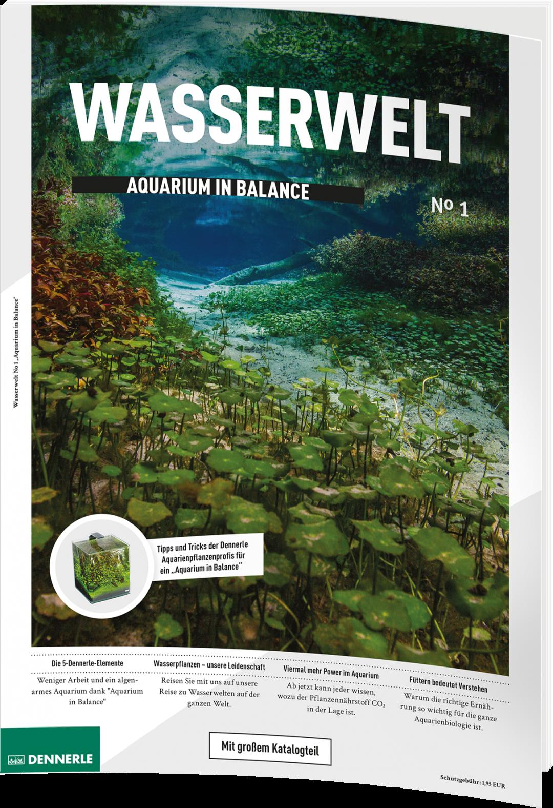 Wasserwelt fast kostenlos: Dennerle vereint Magazin und Katalog zu einem Ratgeber