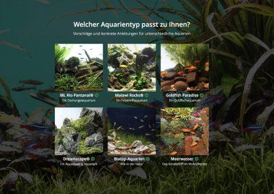 """Komplett Aquarien von der Stange! JBL´s Themen Aquarien als """"Bausatz"""" kaufen"""